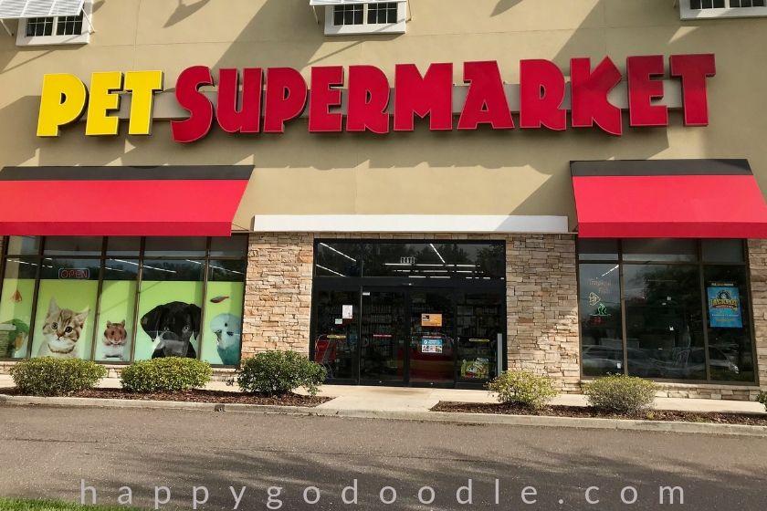 photo of pet supermarket in amelia island